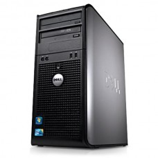 DELL OPTIPLEX 760 Intel Core 2 Duo E5300 2.60GHz / 4096MB / 160GB / DVD -RW/ DisplayPort / 8xUSB 2.0 / Tower