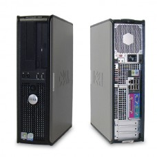 DELL OPTIPLEX 760 Intel Core 2 Duo E7300 2.66GHz / 2048MB / 160GB / DVD / DisplayPort / 8xUSB 2.0 / SFF