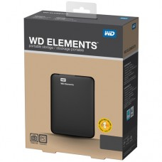 HDD 1TB USB 3.0 Elements Black New Design