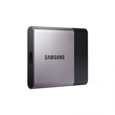 Portable SSD Samsung T3 Series, 250 GB 3D V-NAND Flash, Slim, USB 3.0, Silver