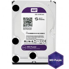 HDD 1TB SATAIII WD Purple 7200rpm 64MB for DVR/Surveillance