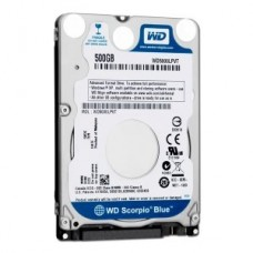 "HDD 500GB SATAIII 2.5"" WD Blue 5400rpm 8MB 7mm slim"