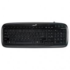 Клавиатура Genius SLIMSTAR 110, Black - слим USB клавиатура