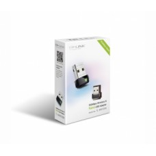 TP-LINK TL-WN725N N150 Wireless Nano USB Адаптер, Realtek, 2.4GHz