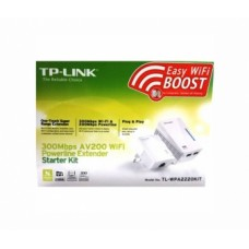 TP-Link N300 Wireless Powerline Extender адаптер, TL-PA2010