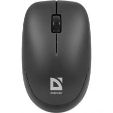 Безжична оптична мишка Defender Datum MM-015 Nano, USB, 2.4 GHz