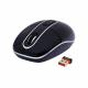 Безжична мини мишка A4TECH G7-300-1, черна,4бут; 800-1600DPI,2.4Ghz, USB,
