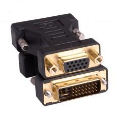 DVI - VGA Adapter, DVI M-HD15F