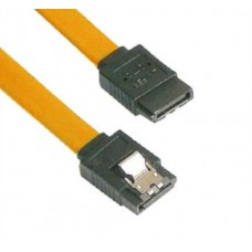 VCom Кабел SATA Cable W/Lock - CH302-Y 0.45m
