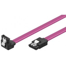VCom Кабел SATA Cable W/Lock Right Angle - CH302R-0.45m