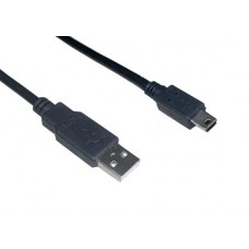 VCom Кабел USB 2.0 AM / Mini USB 5pin - CU215-1.5m