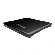 Оптично устройство Transcend 8X Portable DVD Writer, Extra Slim Type USB, 13.9mm thick, Black