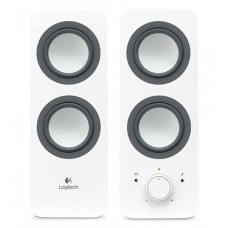 Тонколони, Logitech 2.0 Speakers Z200 - Snow white