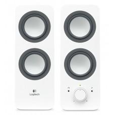 Тонколони, Logitech 2.0 Speakers Z200 - Snow white
